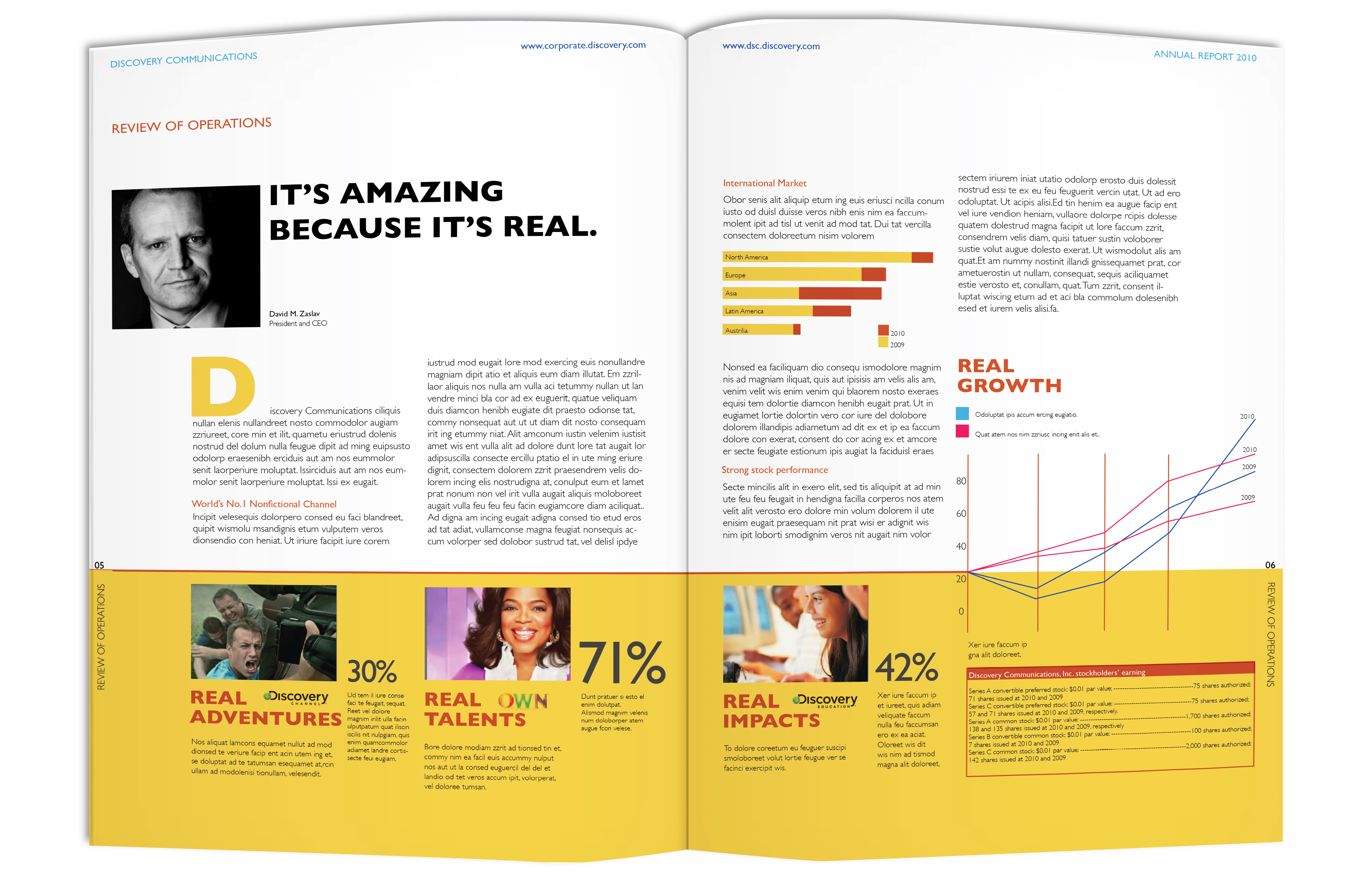 annual report layout - photo #43