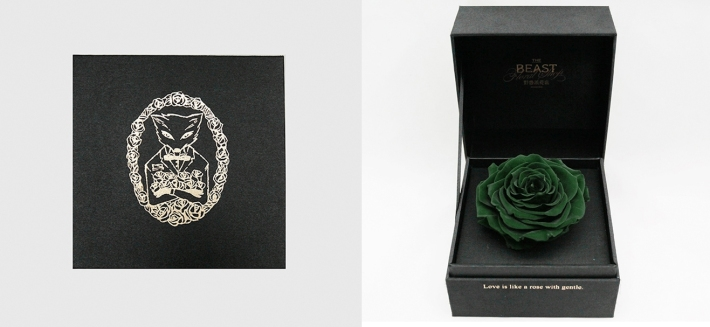 Preserved Rose, image courtesy to The Beast Shop